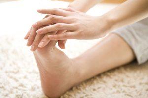 足底筋群のストレッチ