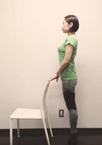 腓腹筋のトレーニング